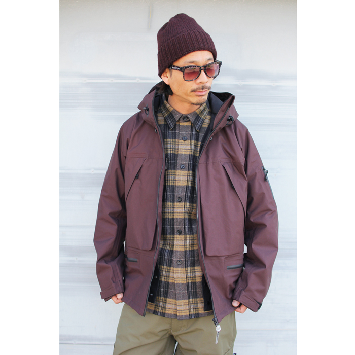 GREENCLOTHING ( グリーンクロージング ) 19-20 WOOL FLANNEL SHIRTS ( YELLOW CHECK )