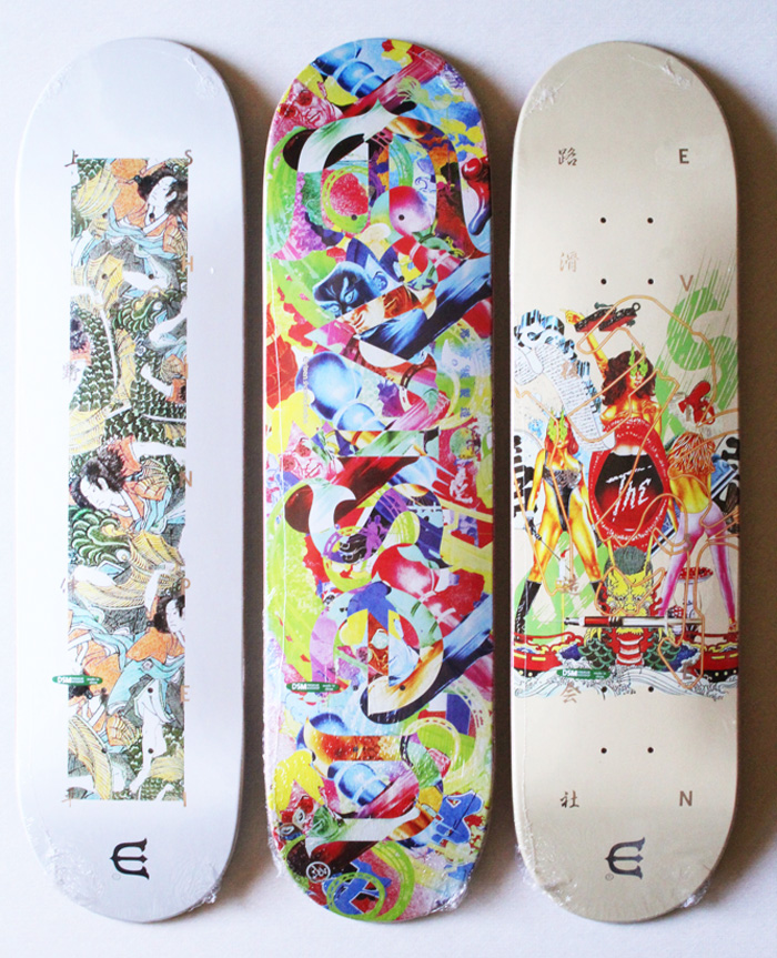 EVISEN SKATEBOARDS 2019FALL新作デッキ