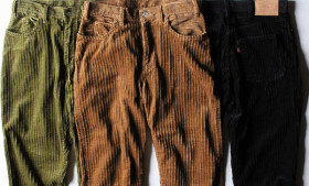 """GOWEST (ゴーウエスト) """"LOOSE TAPERED PANTS / HIGH & LOW AIR CORDUROY"""""""