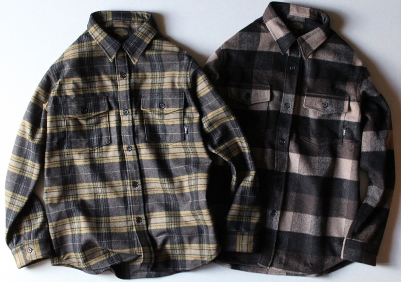 "GREENCLOTHING ( グリーンクロージング ) ""WOOL FLANNEL SHIRTS"""