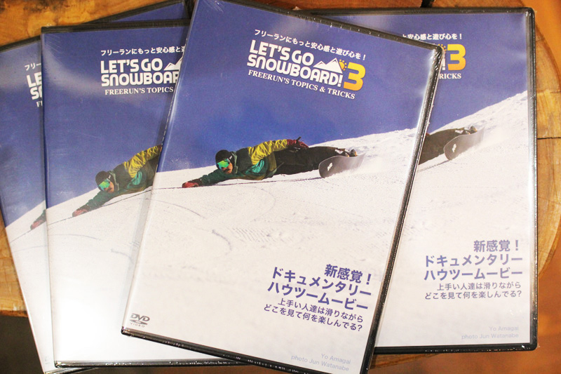 LET'S GO SNOWBOARD 3 / HOW TO ドキュメンタリー ハウツー ムービー」 (SNOWBOARD DVD)