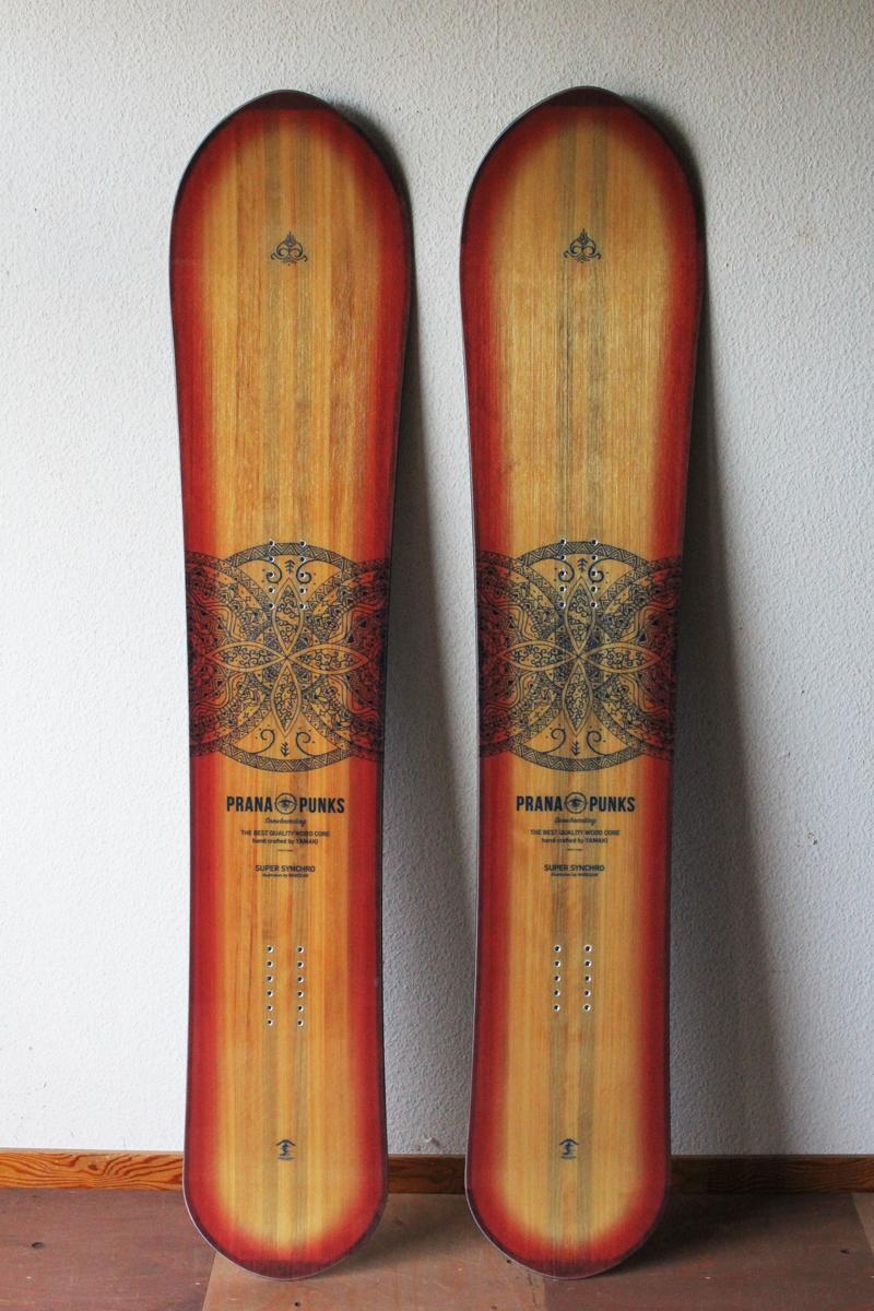 PRANA PUNKS ( プラーナパンクス ) 19-20 SUPER SYNCHRO 156 (MATATABI HANDWORKS SOLE)