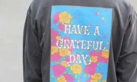 GOWEST ( ゴーウエスト ) GRATEFUL DAY L/SL T-SHIRTS ROSE
