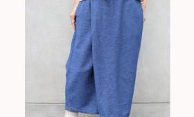 GOHEMP ( ゴーヘンプ ) LADY'S WRAP CULOTTE PANTS