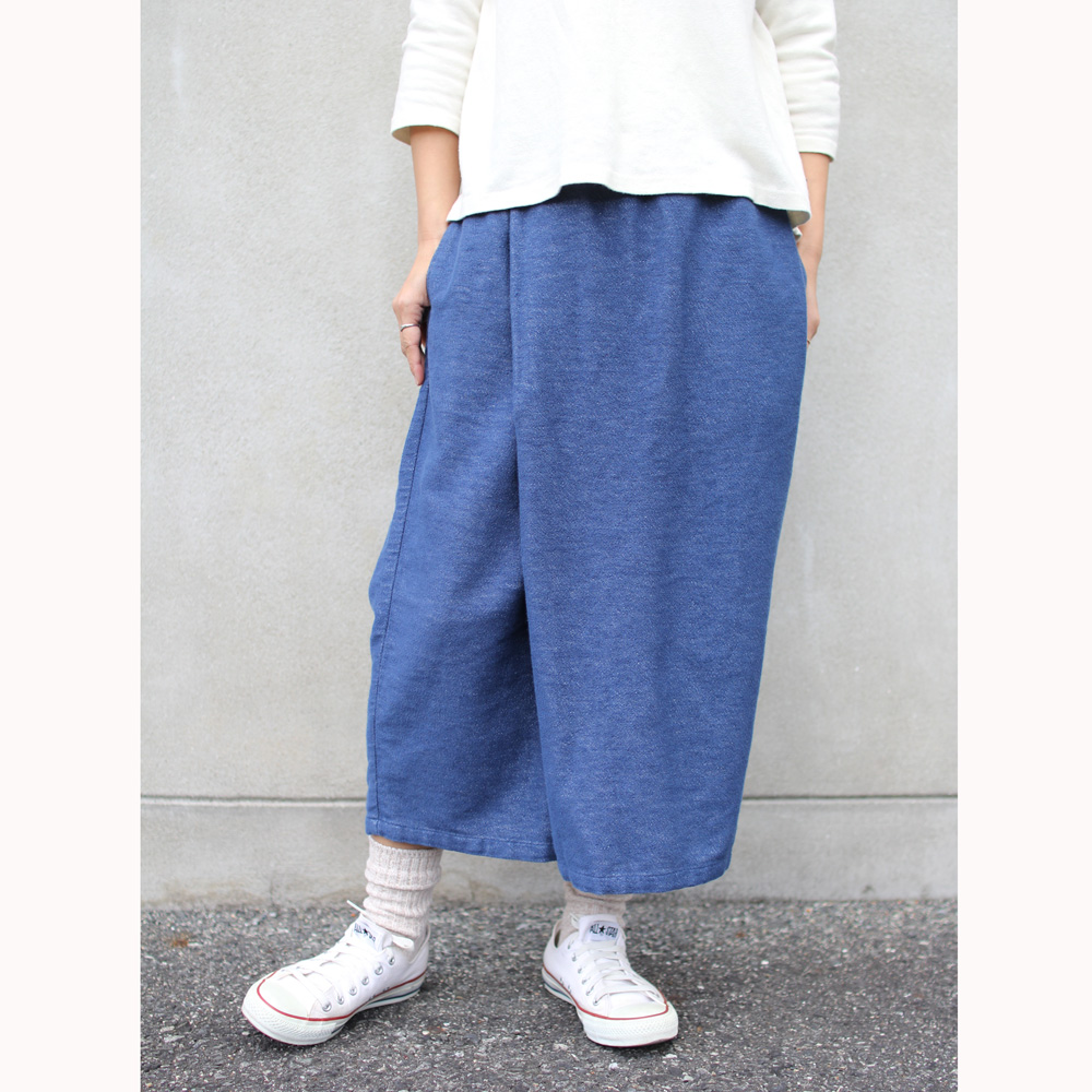 GOHEMP ( ゴーヘンプ ) LADY'S WRAP CULOTTE PANTS
