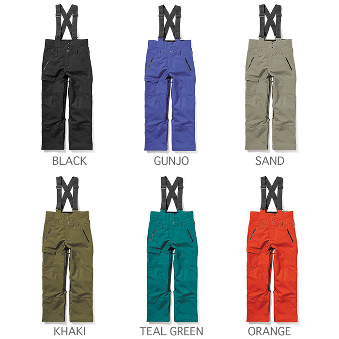 GREENCLOTHING ( グリーンクロージング ) 20-21 早期予約 2020-2021 MOVEMENT PANTS