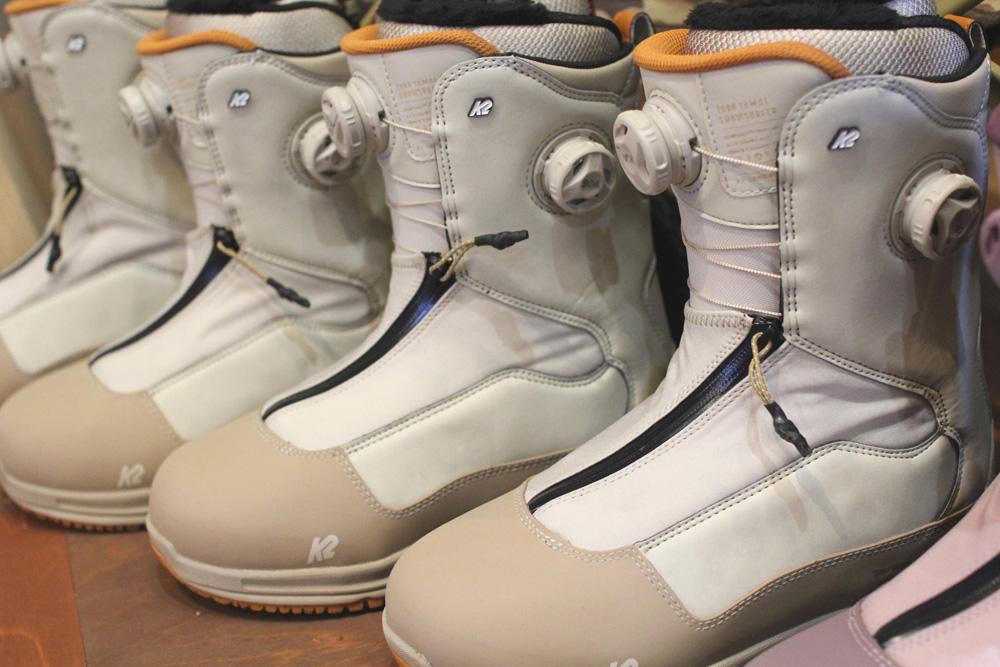 """""""K2 TARO TAMAI SNOWSURFER BOOS"""" ブーツサンプルが届きました。"""
