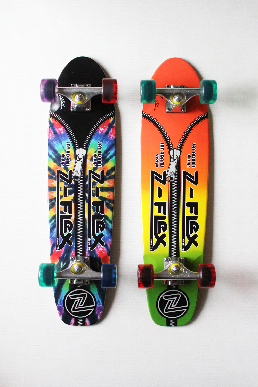 "Z-FLEX ( ジーフレックス ) クルーザースケートボード JAY ADAMS ""ZIPPER HEAD"""