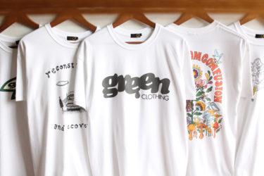 GREENCLOTHING ( グリーンクロージング ) 2020 SUMMER Tシャツ